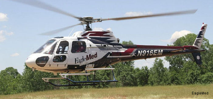 Airbus Helicopters Inc. announced that EagleMed LLC, a subsidiary of Air Medical Group Holdings (AMGH), is committed to growing its fleet of Airbus Helicopters AS350 AStar helicopters.
