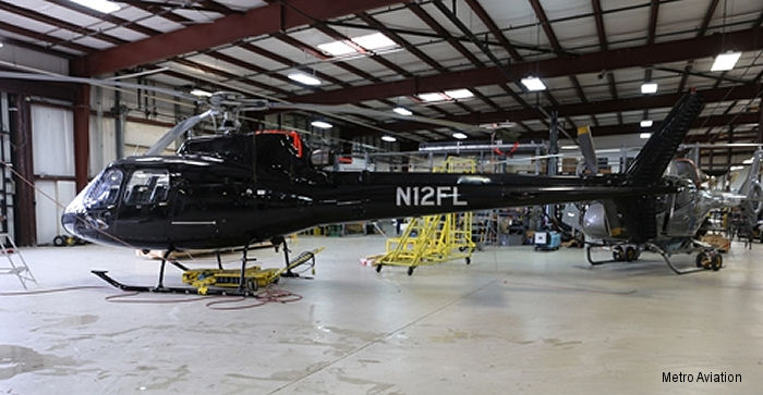 Helicopters Inc. leased an AS350 to Metro Aviation Helicopter Flight Training Center for customers to complement their training program.