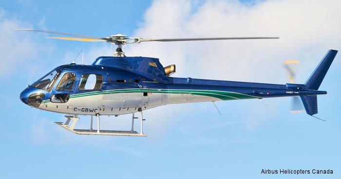 Southwind Helicopters based in British Columbia leased an AS350B2 from Airbus Helicopters Canada for heli-adventures, aerial delivery and forestry work.