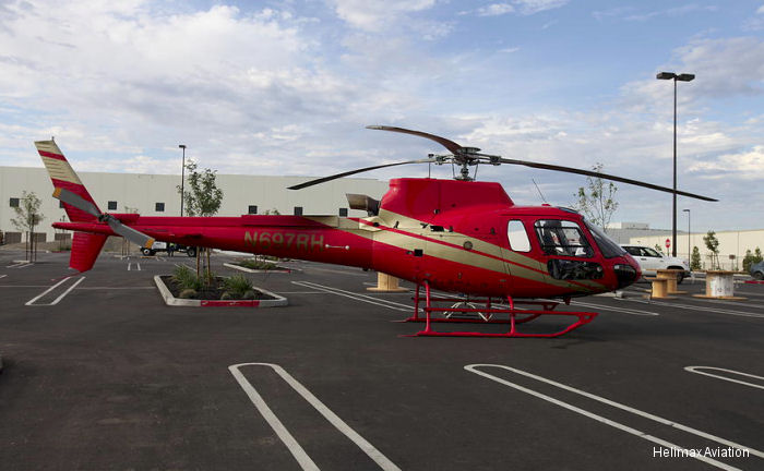 VIH Aerospace (VIHA), Canadian provider of helicopter maintenance, repair and overhaul (MRO) services, announces the delivery of an upgraded Airbus Helicopters AS350 to American-based Helimax Aviation