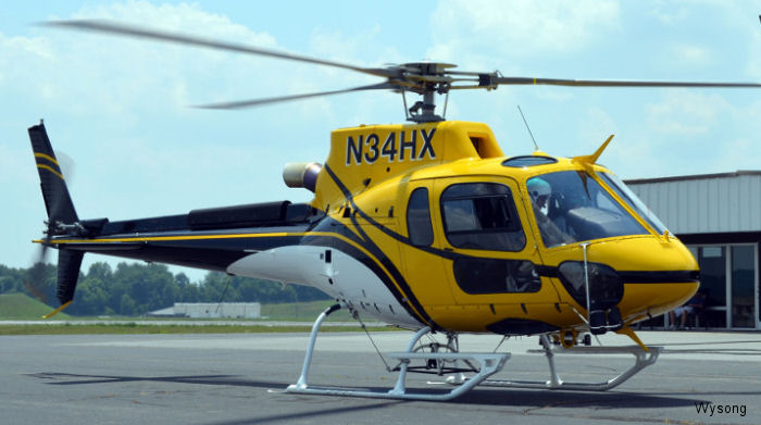 Wysong Enterprises announced has completed an Airbus AS350B3e for Helicopter Express equipped for aerial firefighting
