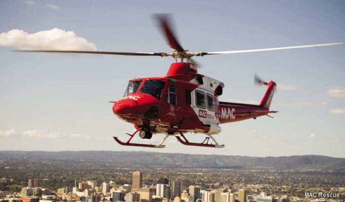 Australian Helicopters to continue operations for South Australia State Rescue Helicopter Service