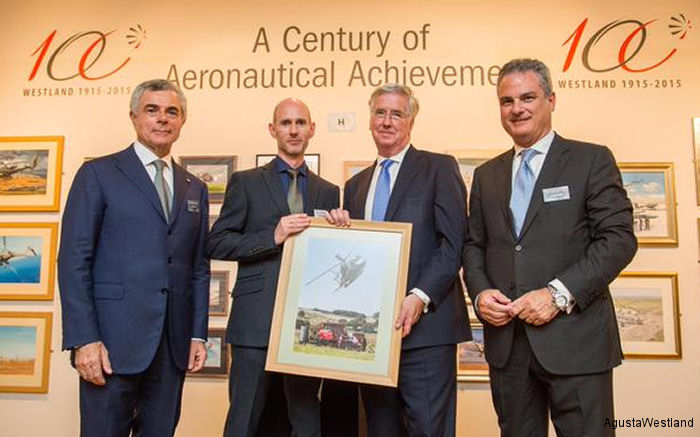 AgustaWestland Celebrates Westland Centenary And 100 Years Supporting The UK Armed Forces
