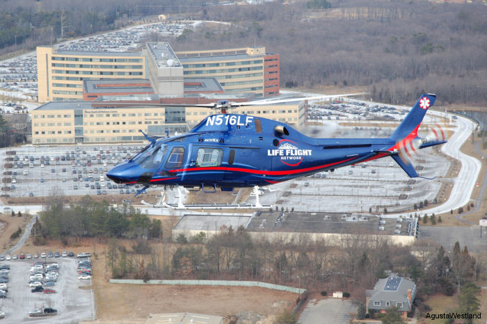 Life Flight Network 19 AW119Kx fleet has exceeded 10,000 flight hours    after just two years after initial deliveries to the customer