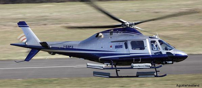 Sino-US,  an official non-exclusive distributor for AgustaWestland civil helicopters in China, ordered three AW119Kx single engine helicopters to be delivered within 2015.