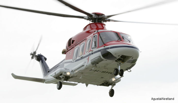 CHC AW139 Fleet Leader Passes 10,000 Flight Hours