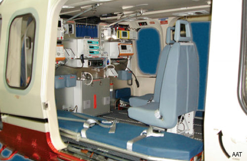 Austrian Air Ambulance Technology (AAT) received an FAA Validation for its AW139 interior solutions in quick change configuration.