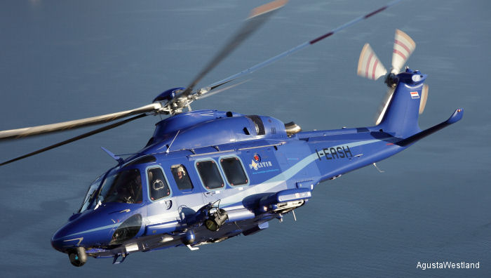 Croatian Police orders one AW139, the first in the country. Co-financed with EU Internal Security Funds and equipped with FLIR and rescue hoist will be used mainly in border and maritime patrol.