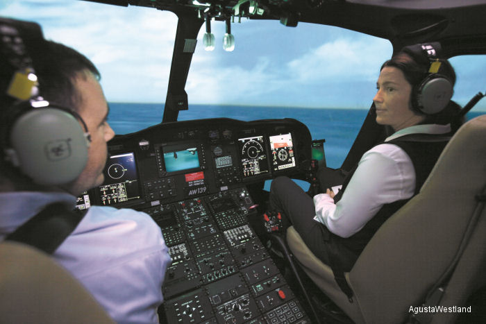 AgustaWestland announced today the approval of the FlightSafety International Learning Centre in Lafayette, Louisiana, USA as an AgustaWestland Authorised Training Centre.