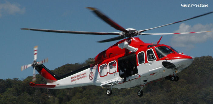 LCI will lease, from the second half of 2016, four new AW139 to Australia's Westpac Rescue Helicopter Service for EMS operations on behalf of New South Wales NSW Ambulance.