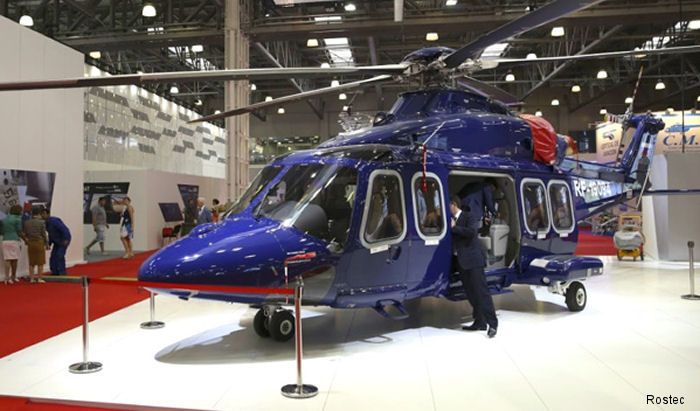 A crew from Russian Helicopter completed the first civilian flight inside of Moscow of an AW139 assembled at the joint Russian-Italian enterprise HeliVert in Tomilino, near Moscow.