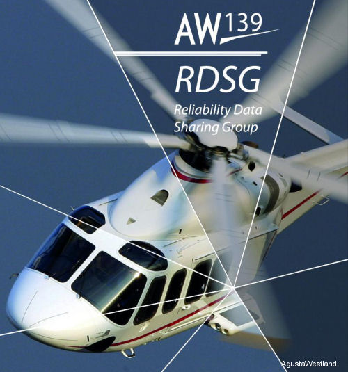 With the aim of creating a collaborative working group between AgustaWestland and its Customers, the RDSG promotes the sharing of aircraft systems reliability data.