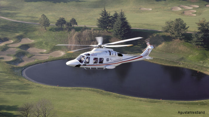 AgustaWestland announced sale of an AW169 to Canadian VIP charter Fig Air Inc. Worldwide orders for the AW169 helicopter exceeded 150 with deliveries to begin this year.