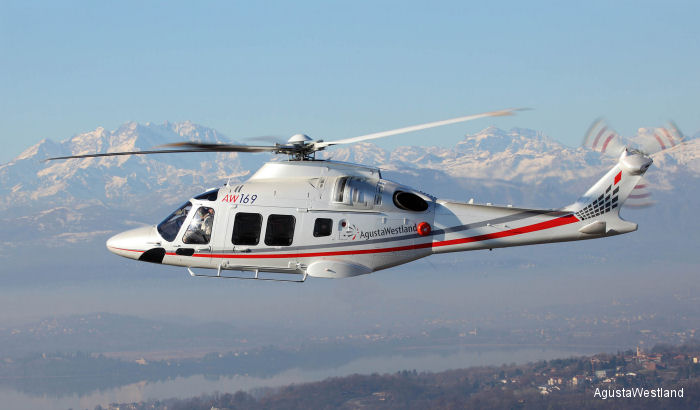 The new generation AW169 received type certification by the European Aviation Safety Agency (EASA) on July 15, 2015. Delivery of the first production helicopters to customers will now commence.