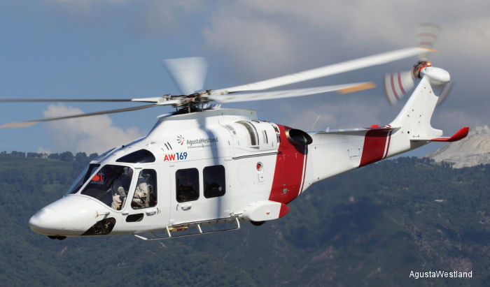 Specialist Aviation Services (SAS), who signed for Six HEMS AW169, will be appointed as an Authorized Service Centre for the new generation AW169 light intermediate helicopter in UK.
