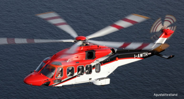 AgustaWestland announced that the AW189 achieved FAA validation of its EASA certification allowing for deliveries and operations to begin shortly for AW189 customers in the United States (ERA).
