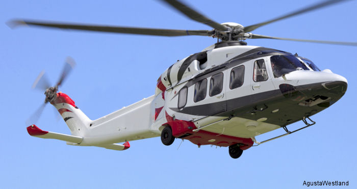 Russian oil company Rosneft orders 10 AW189 helicopters as part of a total of up to 160 units signed in December 2014 to be delivered between 2015 and 2025