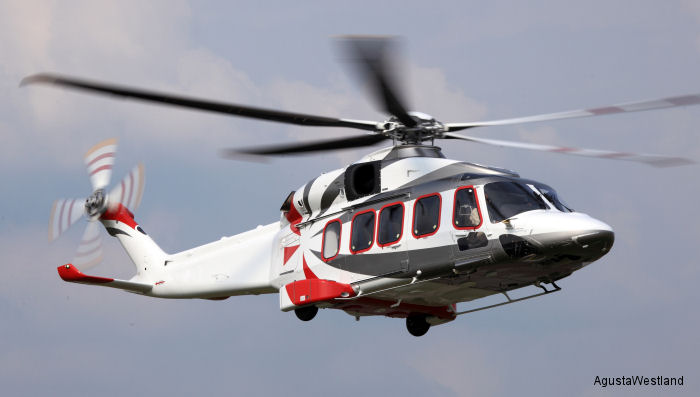 AgustaWestland announced that the AW189 helicopter has obtained Russian Civil Certification. Ten ordered by Rosneft oil company.