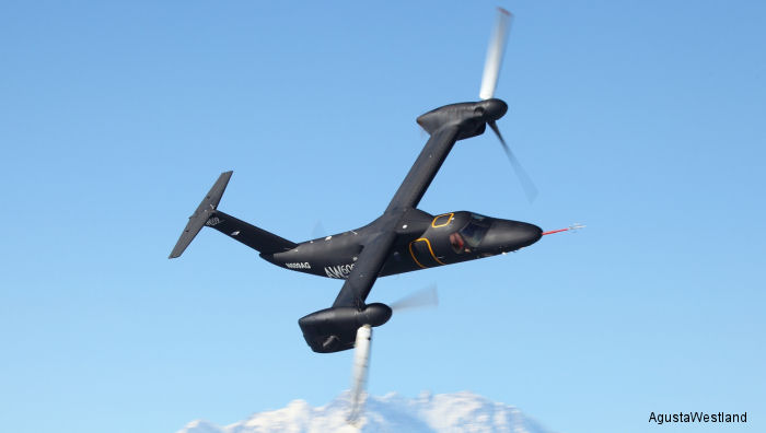 The AW609 TiltRotor has increased maximum all up mass for greater payload and range. Added external fuel tanks, enlarged cabin door ideal for SAR and EMS missions and state-of-the-art cockpit upgrade