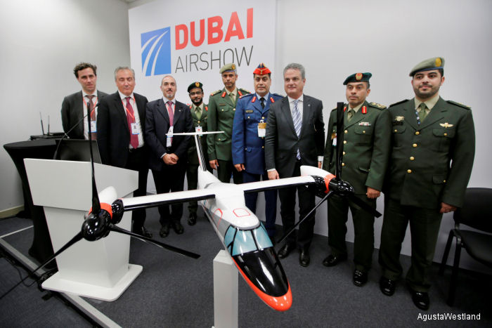 UAE Selects the AW609 TiltRotor for SAR Missions