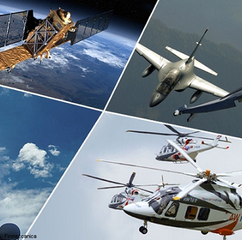 From 1 January 2016 Finmeccanica 4 sectors ( Helicopters, Aeronautics,  Electronics, Defence & Security Systems and Space ) will become one single organisation.
