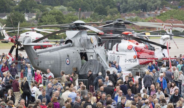 AgustaWestland Celebrates 100 Years of Aircraft Manufacturing in the UK