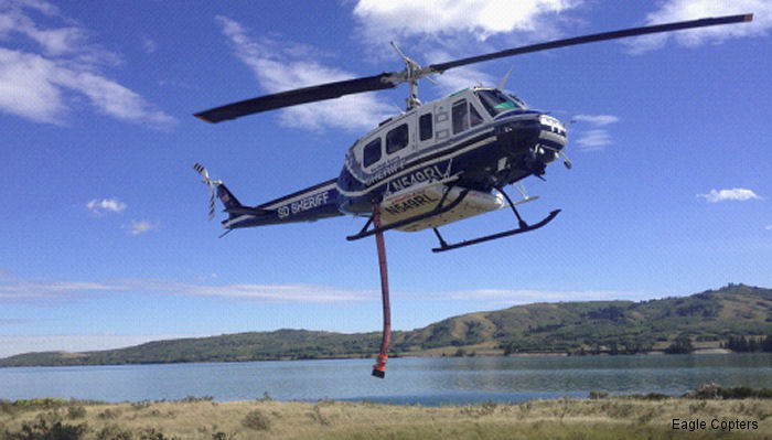 Eagle Copters Ltd. delivers another fully refurbished Bell 205A-1++ to San Diego County Sheriff Department