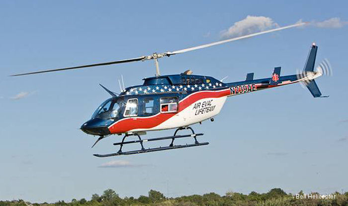 Bell Helicopter Announces Agreement for Four Bell 206L-4s to Air Medical Group Holdings