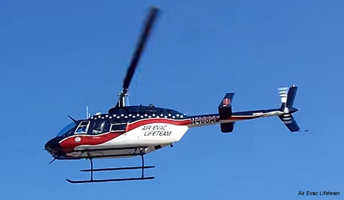 Air Medical Group Holdings (AMGH) orders eight HEMS Bell 206L-4s to be operated by Air Evac Lifeteam. Deliveries are scheduled to begin next year.