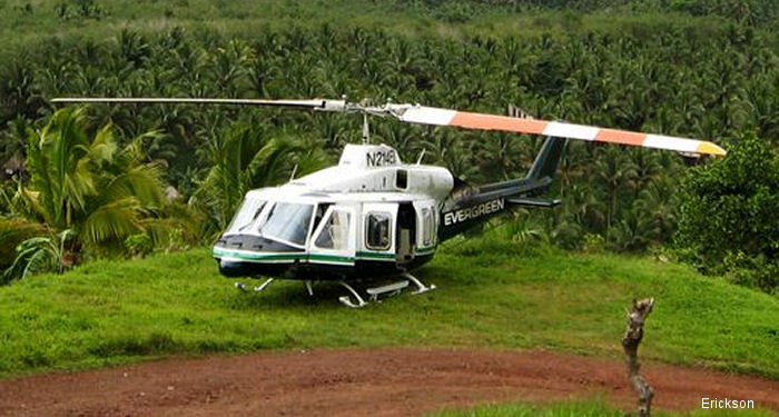 Erickson assume support responsibility of the Bell 214 B and ST models, including spare parts supply, technical assistance, maintenance training, and maintenance, repair and overhaul services (MRO)