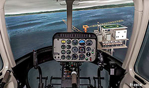 Horizon International Flight Academy LLC, UAE has placed an order with Frasca International for a Bell 407 FNPT II simulator.