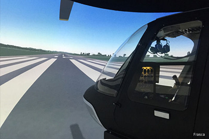 Metro Aviation s Helicopter Flight Training Center at Shreveport, LA has recently received FAA Level 7 approval for their Frasca built Bell 407 Flight Training Device (FTD).