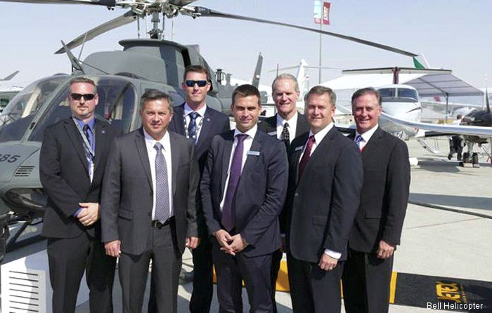 Modification, maintenance, overhaul and repair firm NorthStar Aviation from Abu Dhabi received the 48th Bell 407GX helicopter for different government and military clients.