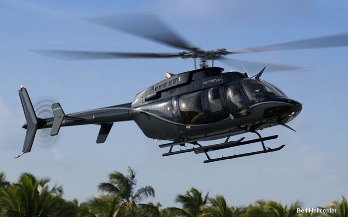 First Bell 407GXP in Panama will be delivered next July to Urban Development Group (UDG) to perform corporate and VIP transport in the region