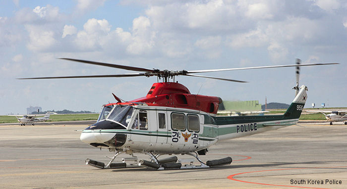 Heli-One will provide maintenance repair and overhaul (MRO) services  to the South Korean National Police Bell 412 fleet in Boundary Bay, Canada
