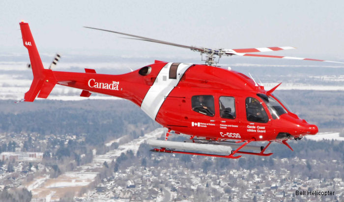 Canadian Coast Guard ordered 7 Bell 412EPI and received first of 15 Bell 429 awarded in May 2014