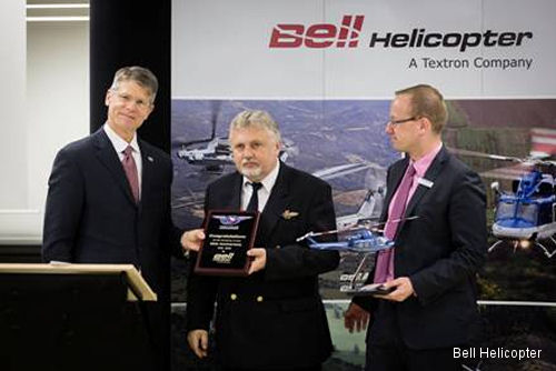 Bell Helicopter sells first Bell 412EPI in Europe to Czech Police
