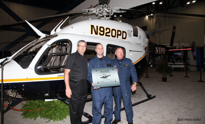 Bell Helicopter Completes Final Delivery to NYPD for Four Bell 429s