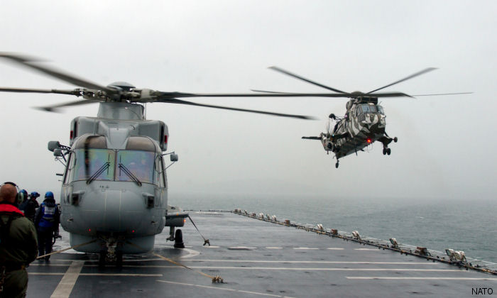 The aviation and engineering support and aircraft services (AESAS) contract includes maintenance for Merlin, Sea King, Lynx and Wildcat helicopters.