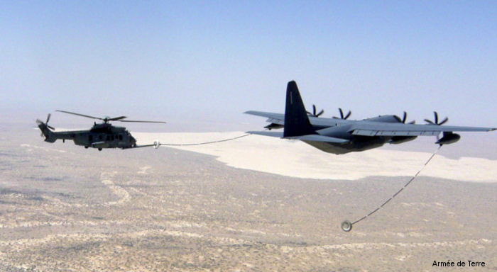 Operation Barkhane: First Air Refueling of Helicopters ...