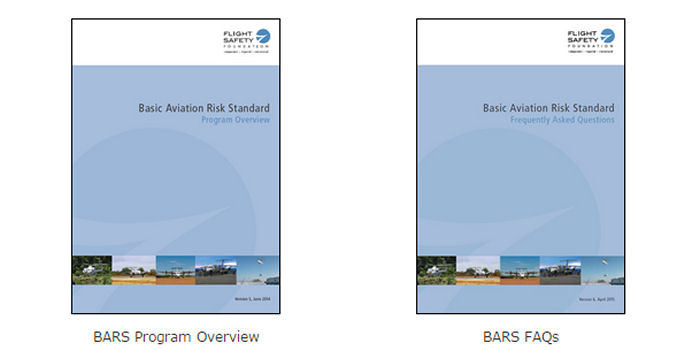Flight Safety Foundation (FSF) Basic Aviation Risk Standard for Offshore Helicopter Operations (BARS OHO) presents a standard in a risk-based format using applicable threats and controls