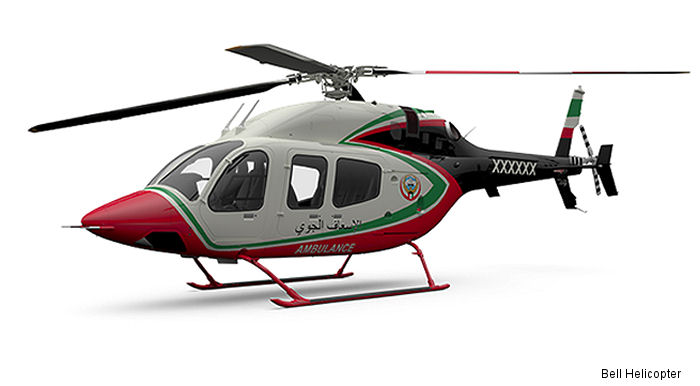Bell Helicopter announced today the Ministry of Health in Kuwait will be operating the first two Bell 429s configured for Helicopter Emergency Medical Services (HEMS) in the Middle East.