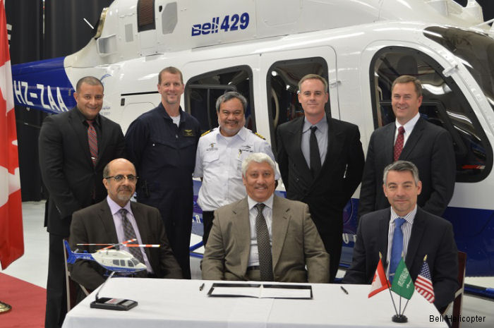 Saudi Geological Survey Takes Delivery of New Bell 429