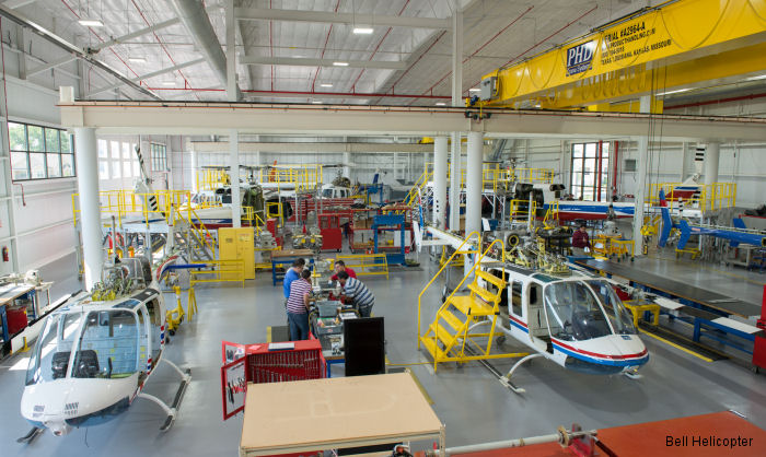 Bell Helicopter Training Academy in Fort Worth, Texas has officially opened at its new location at Fort Worth, Texas headquarters.