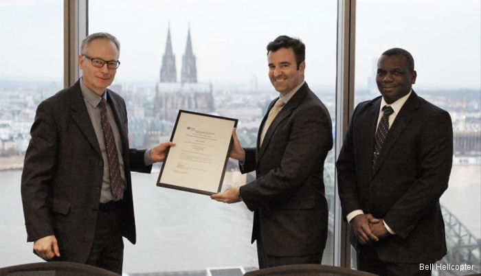 Bell Helicopter received an Approved Training Organization (ATO) certification from the European Aviation Safety Agency (EASA). Training courses for the Bell 407 and Bell 429 at Valencia, Spain