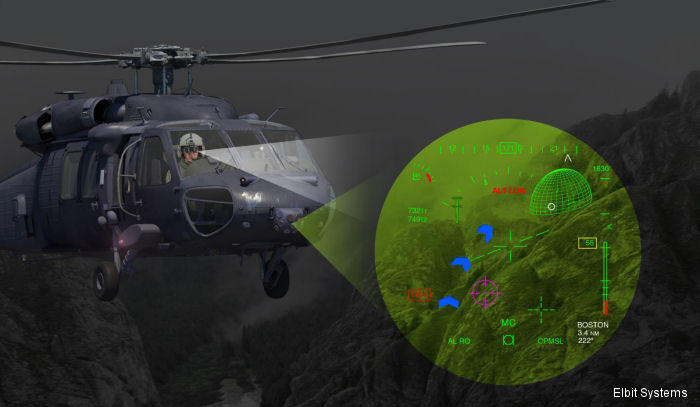 BrightNite is a multispectral panoramic solution for helicopter pilots flying in a Degraded Visual Environment (DVE) that allows to operate in more than 90% of night missions