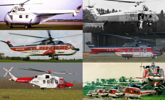 Bristow is celebrating its 60th anniversary with a look back on the historic events that helped create one of the world's largest civilian helicopter companies.