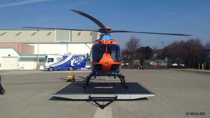 California Shock Trauma Air Rescue (CALSTAR) has received a Pegasus Series helicopter landing platform from All Metal