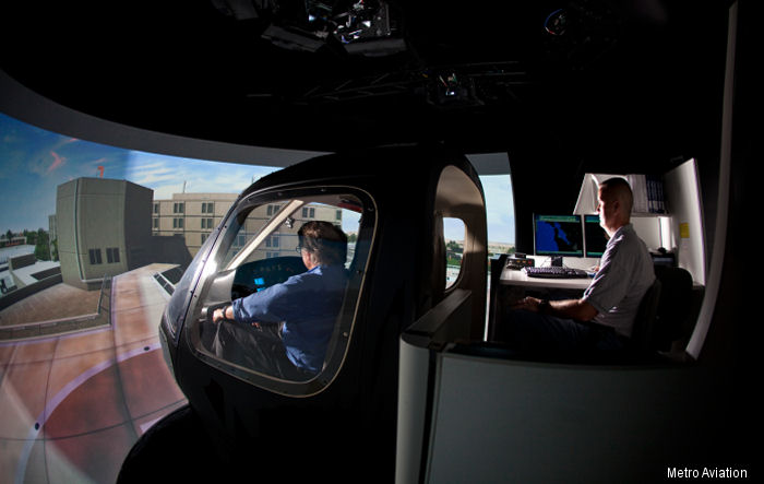 Phoenix Heli-Flight will be the first Canadian customer to use Metro Aviation s Helicopter Flight Training Center