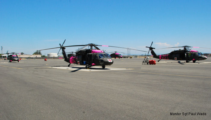 Task Force Medevac Soldier of the Year prepares for fire season